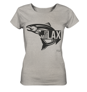 Is mit Lax - Frauen T-Shirt Ladies Organic Shirt (meliert) - SLOTH & friends