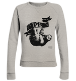 Live Slow Faultier Damen Pullover Ladies Organic Sweatshirt - SLOTH & friends