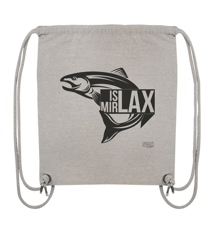 Is mir Lax - Turnbeutel Organic Gym-Bag - SLOTH & friends