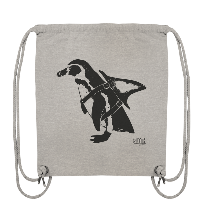PinguHai - Turnbeutel Organic Gym-Bag - SLOTH & friends