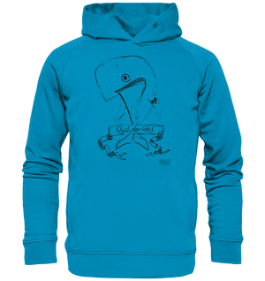 Qual der Wal Männer Hoodie Organic Hooded Sweat - SLOTH & friends