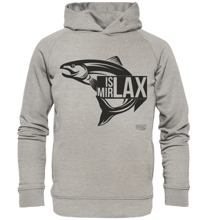 Is mir Lax - Männer Hoodie Organic Hooded Sweat