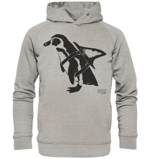 PinguHai - Männer Hoodie Organic Hooded Sweat