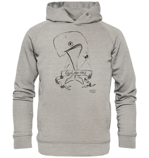 Qual der Wal Männer Hoodie Organic Hooded Sweat