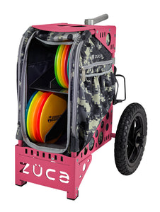 Disc Golf Cart - Anaconda/Pink