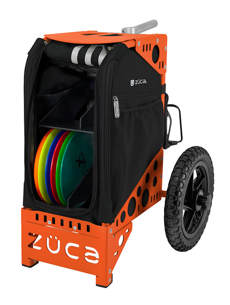 Disc Golf Cart  - Onyx/Orange