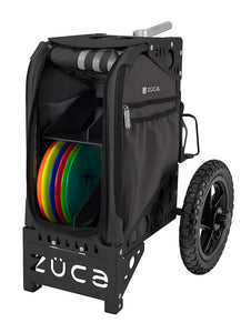 Disc Golf Cart - Gunmetal/Black
