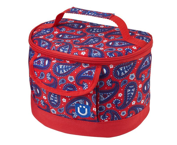 Lunchbox - Paisley in Red