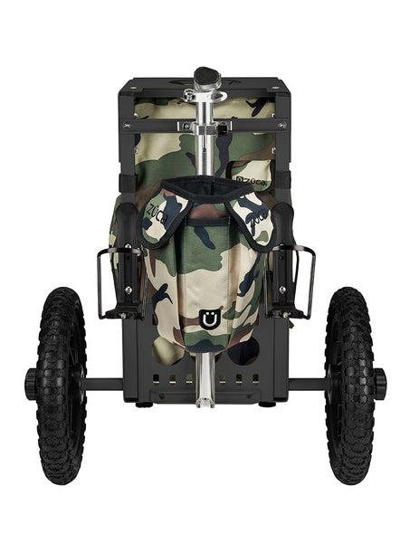 Disc Golf Cart - Camo/Black