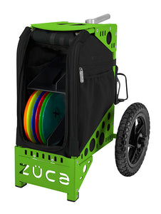 Disc Golf Cart - Covert/Green