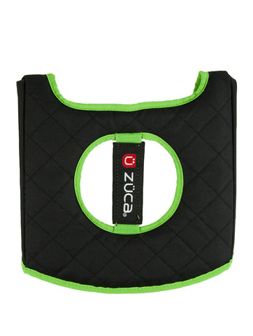 Seat Cushion - Green/Black