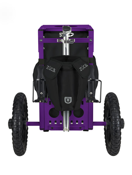 Disc Golf Cart - Onyx/Purple