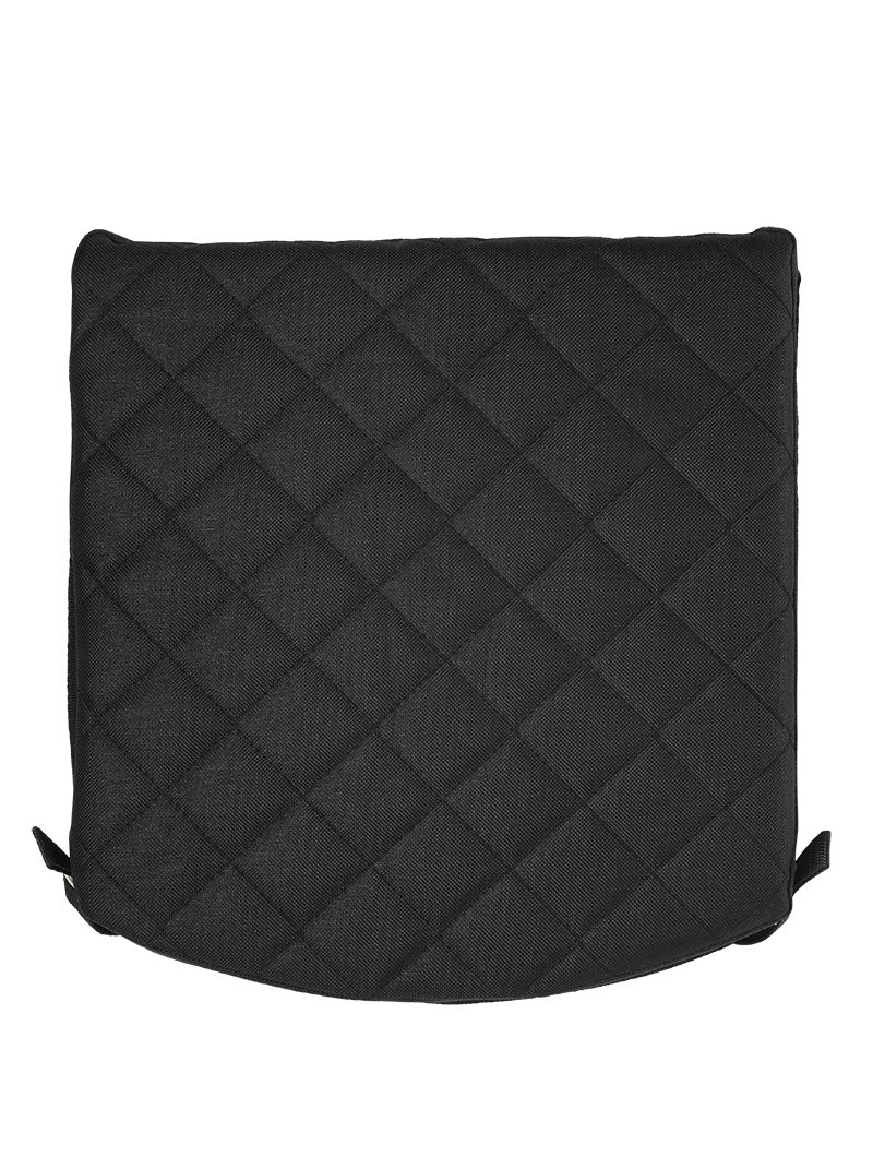 Padded Seat Cushion - Black