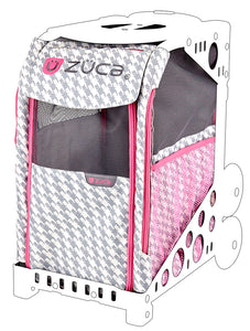Pet Insert - Houndstooth Pink