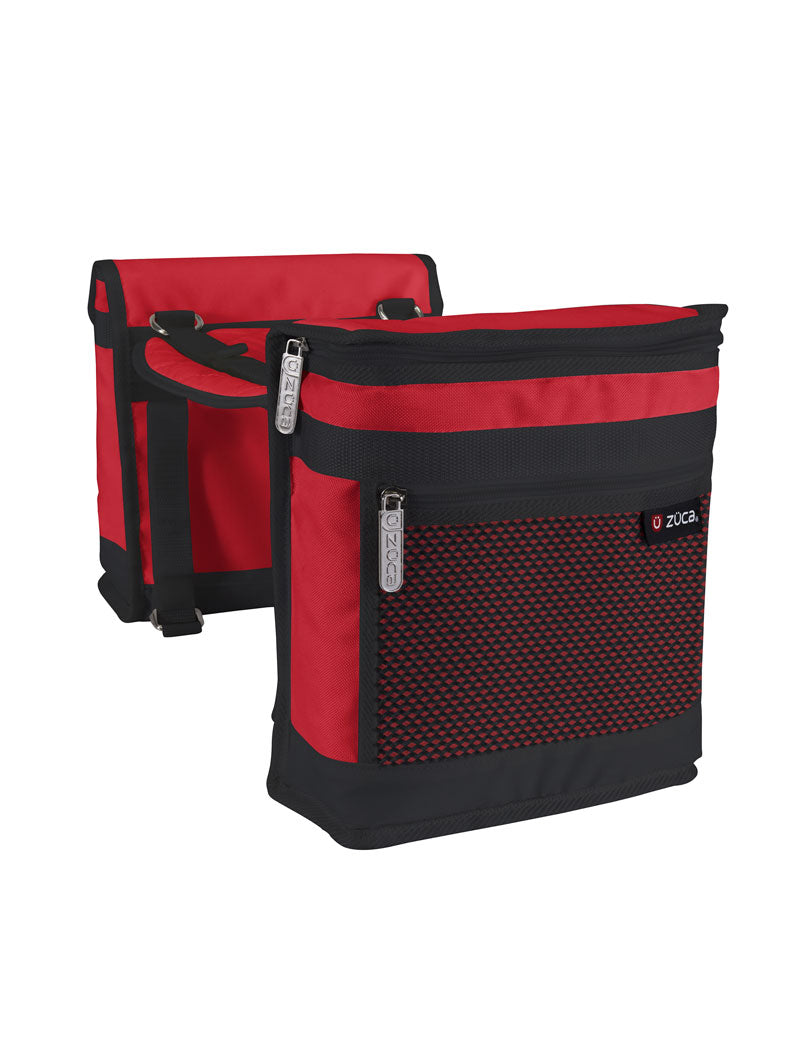 Saddle Bag Set - Red