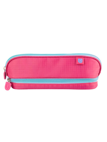 Pencil Case - Pink/Blue