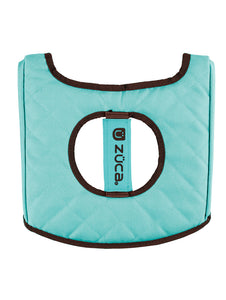 Seat Cushion - Turquoise/Brown