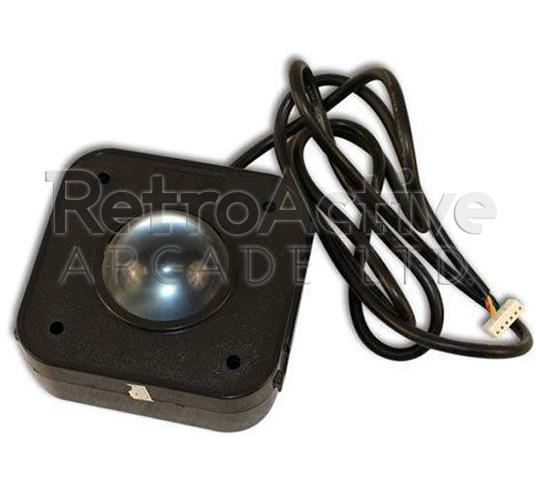 4.5cm Clear PS/2 Trackball