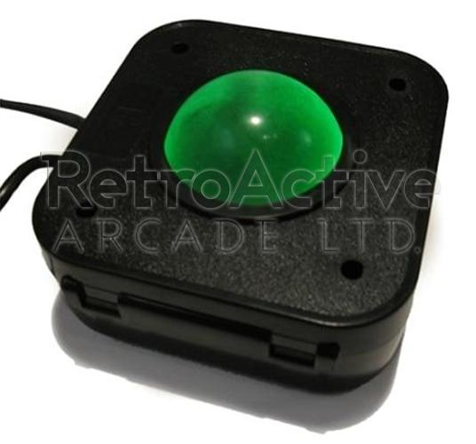 4.5cm Transluscent LED PS/2 Trackball