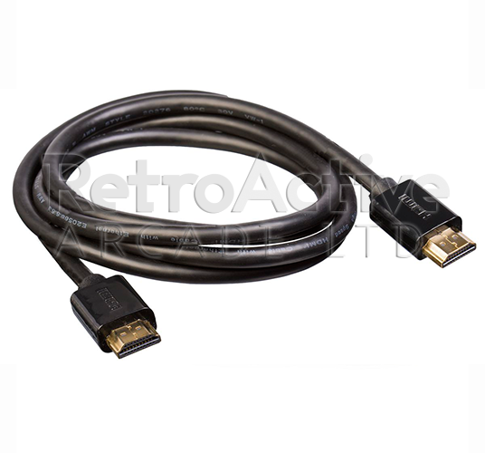 High Speed HDMI Cable Cable Accessories Universal - Retro Active Arcade
