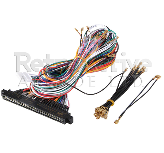 Universal Jamma Harness (Black) .187""