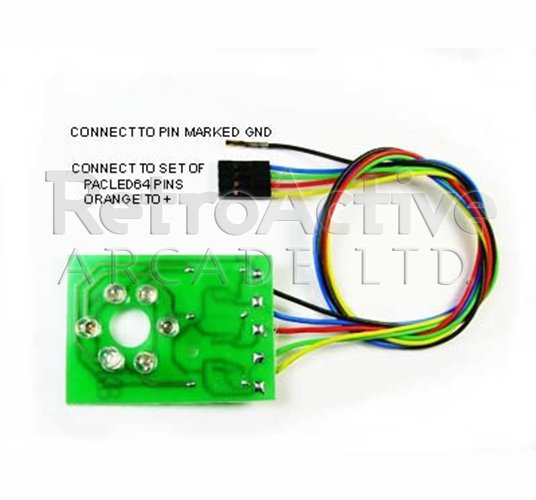 U-TRAK Trackball RGB LED Illumination Kit