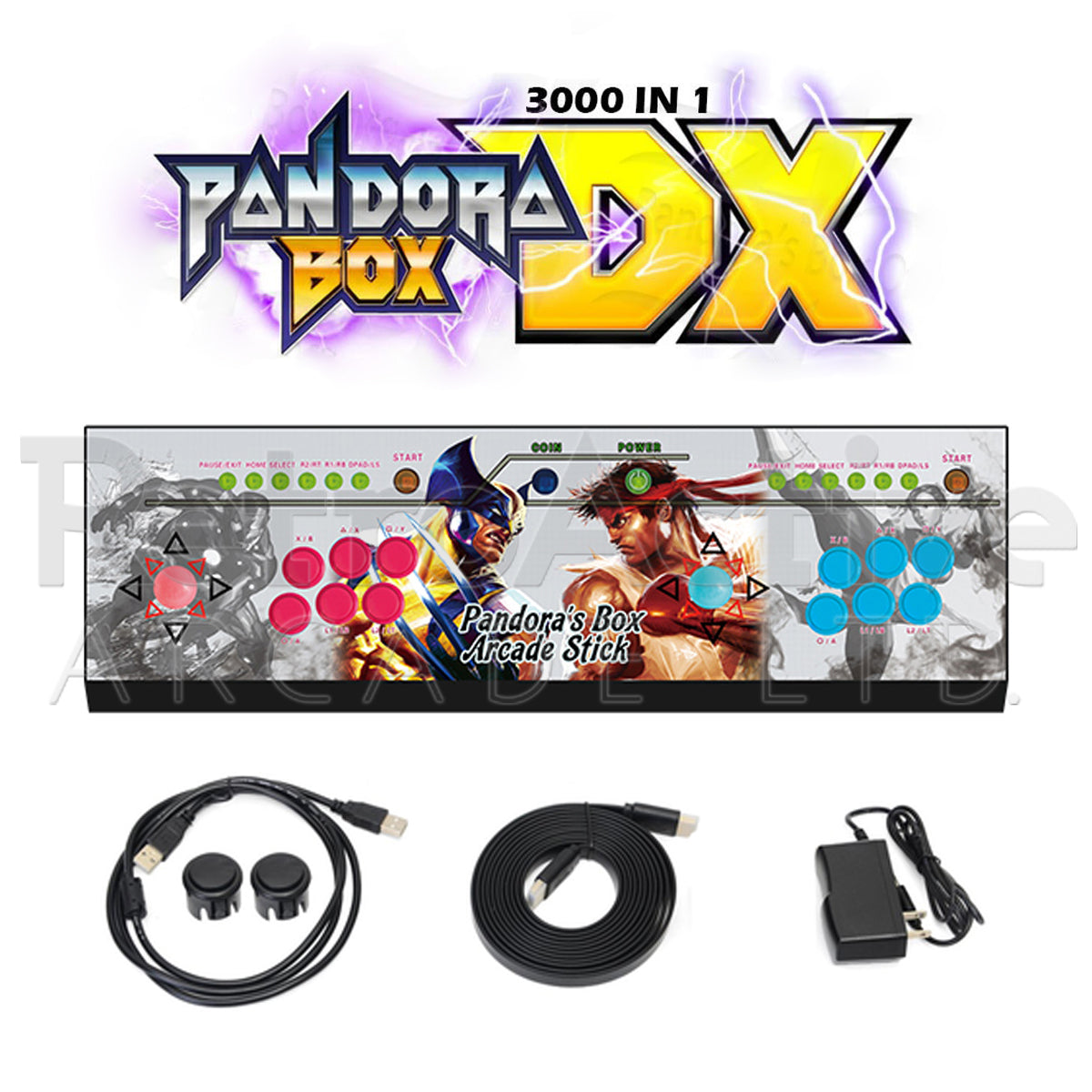 Pandora Box DX Game Console Non-LED (OEM)