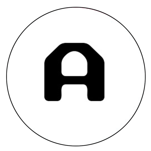 """A"" Letter Button Decal"