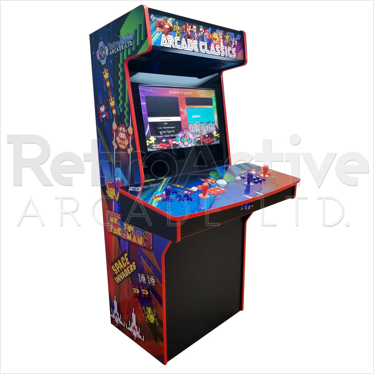 "4 Player ""Monster"" Arcade Signature Series"