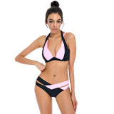 High Cut Contrast Bikini