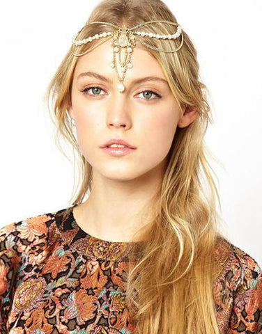 Metal Gold Color Headband