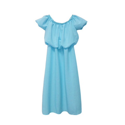 Cute Off-shoulder Mom and Me Dress
