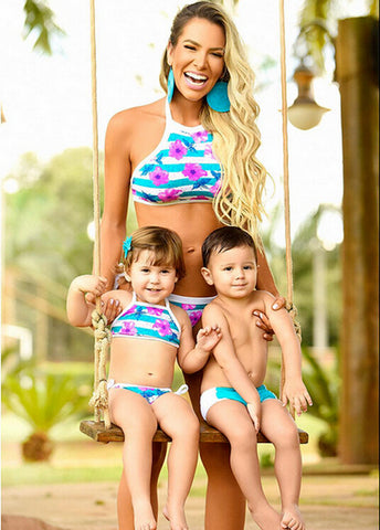 Flower Family Swimwear