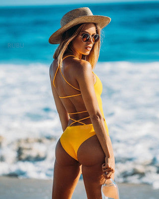 2018 Summer Style Sexy One Piece Swimsuit