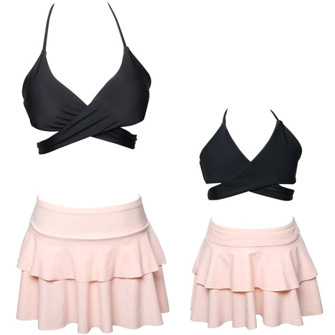 Mommy & Me Bikini with Skirt