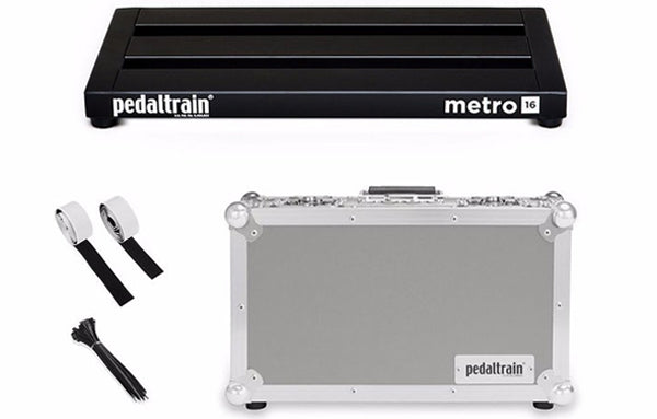 Pedaltrain Metro 16 with Tour Case - The Bass Gallery