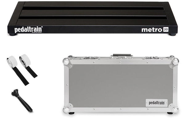 Pedaltrain Metro 20 with Tour Case - The Bass Gallery