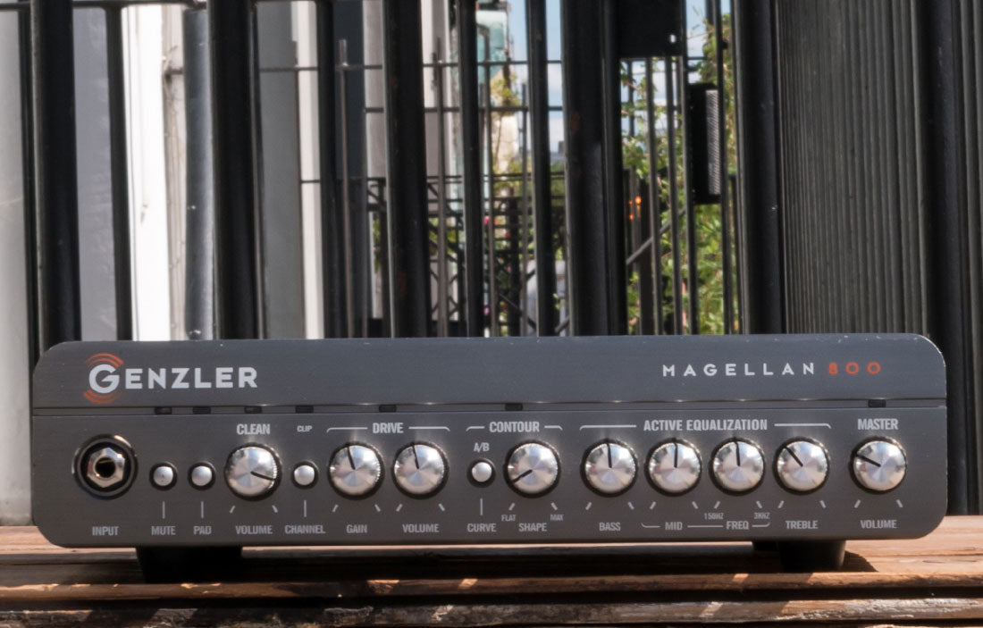 Genzler Magallan 800 with case