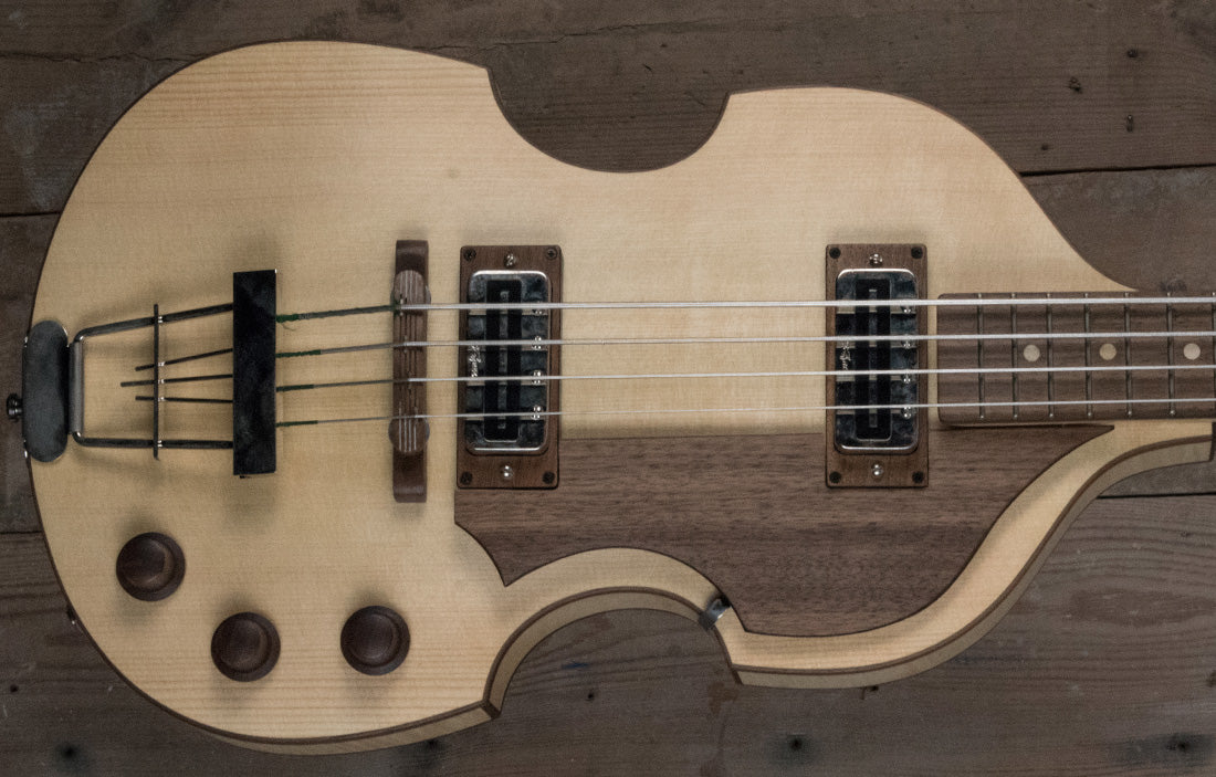 Hofner Violin Bass Greenline Series