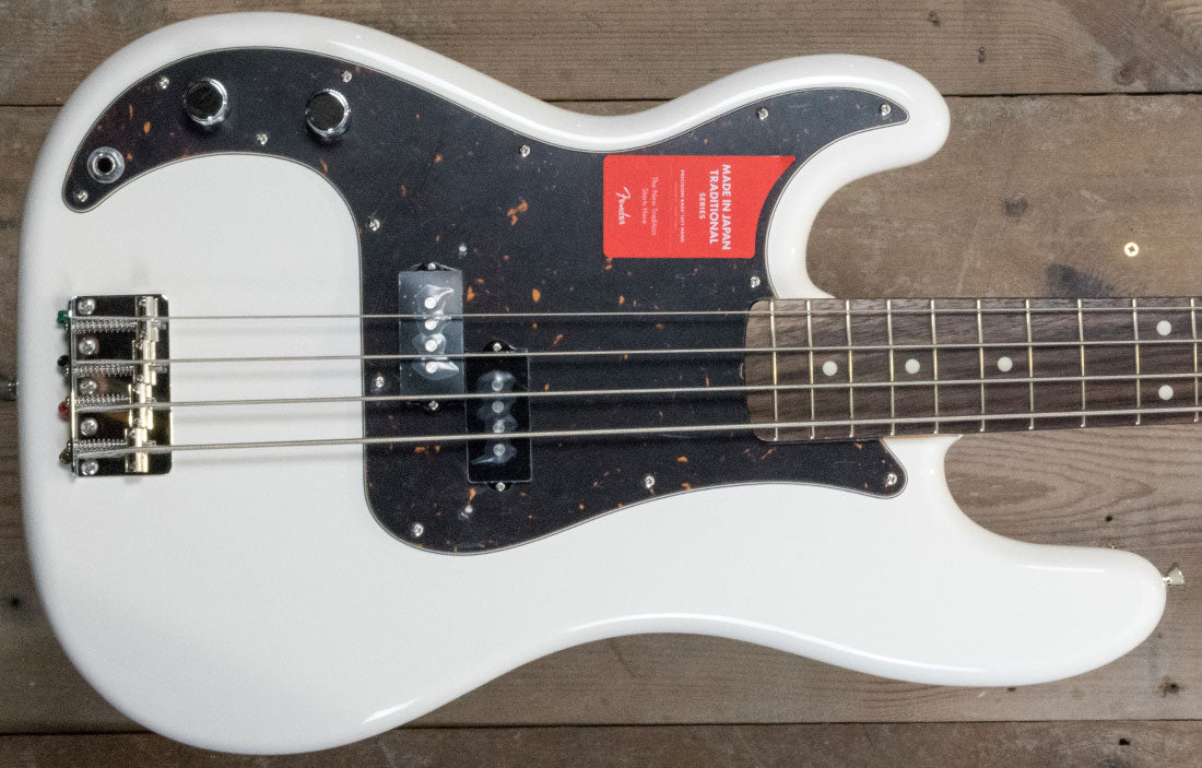 Fender Japan Traditional 60s Precision Bass (Left Hand)