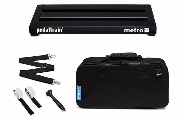 Pedaltrain Metro 16 with Soft Case - The Bass Gallery