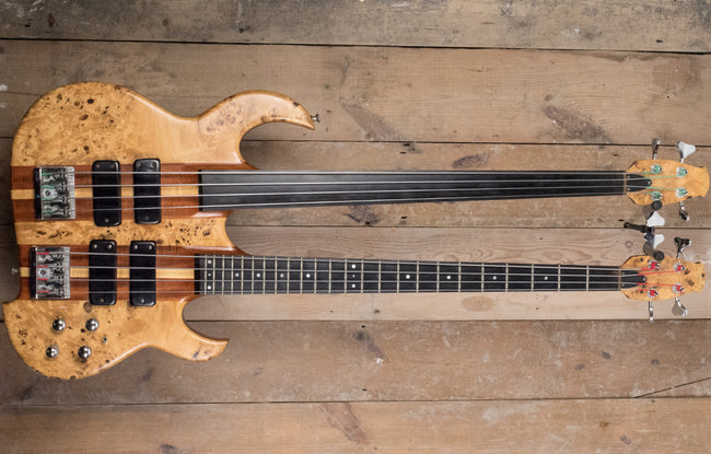 Manson Double Neck Fretted/Fretless