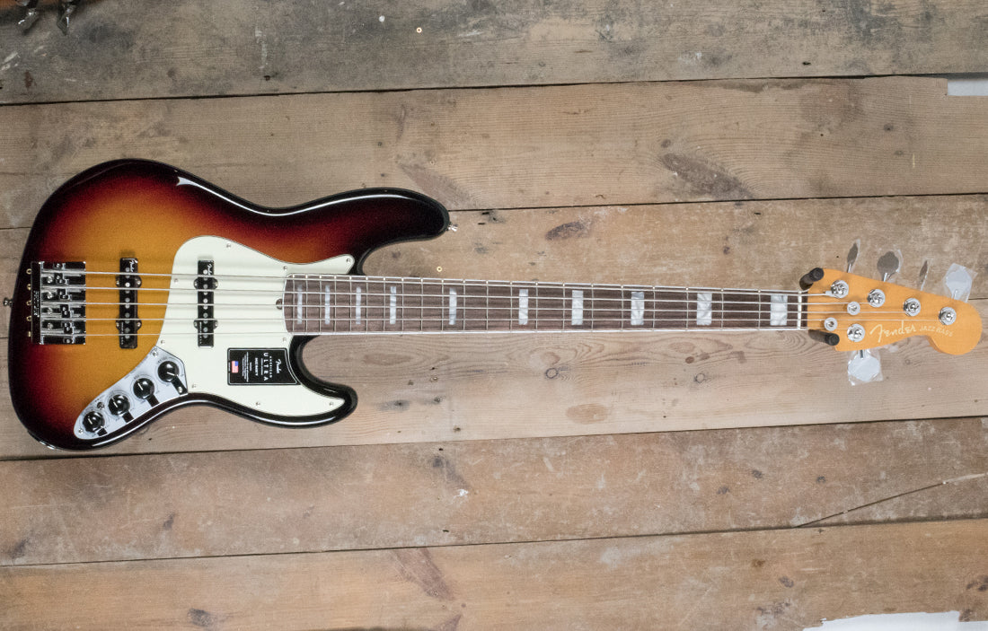 Fender American Ultra Jazz Bass 5