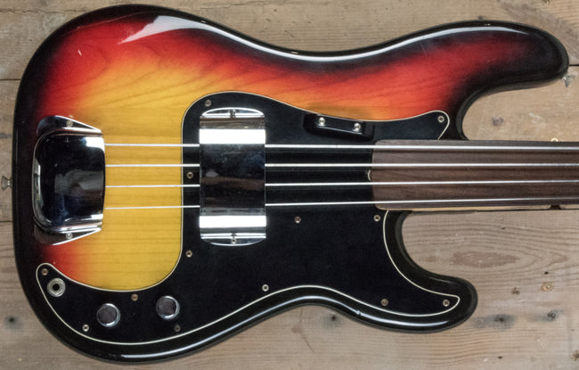 Fender 1978 Fretless Precision