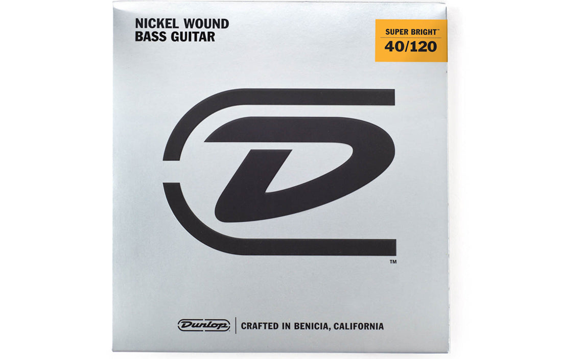 Dunlop Super Bright Nickel Wound Bass Strings (5 String Set) - The Bass Gallery