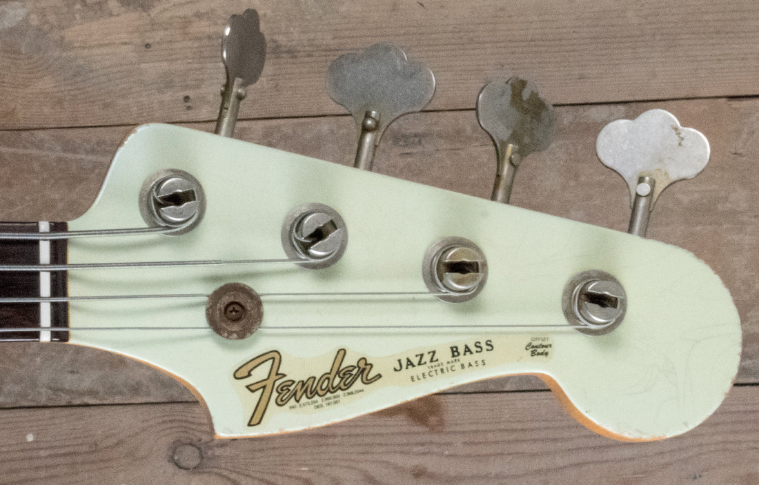Fender Custom Shop Limited Edition 1964 Jazz Bass Relic