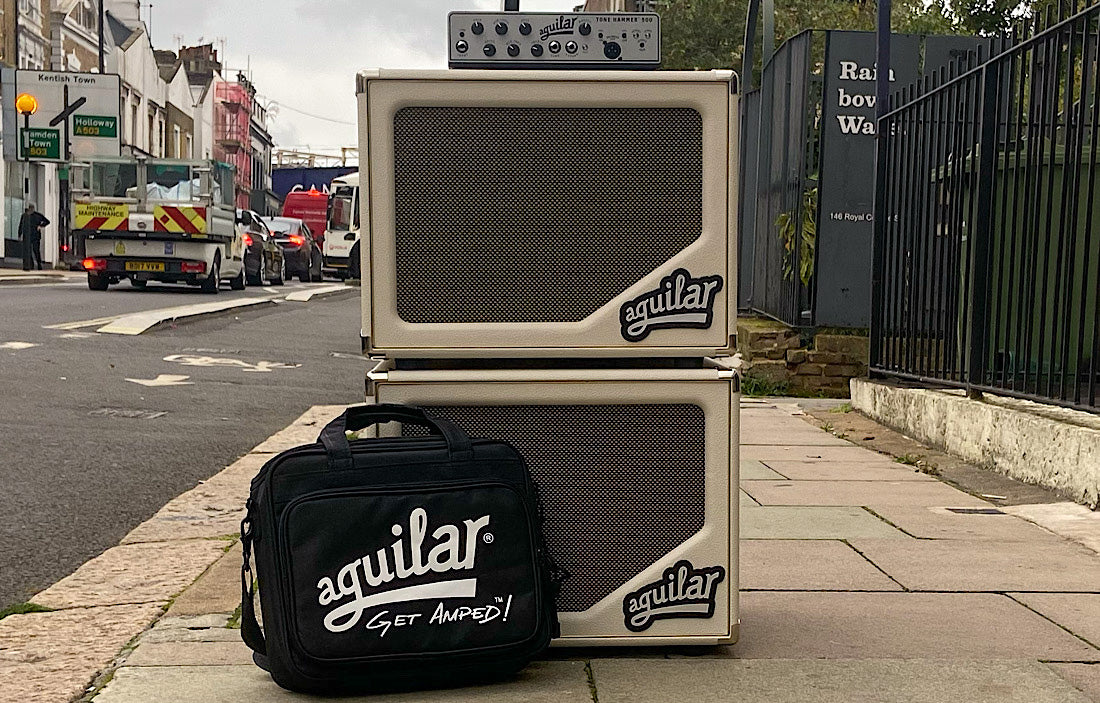 2X Aguilar Sl112's, Tone Hammer 500 and Gig Bag (EX Demo)