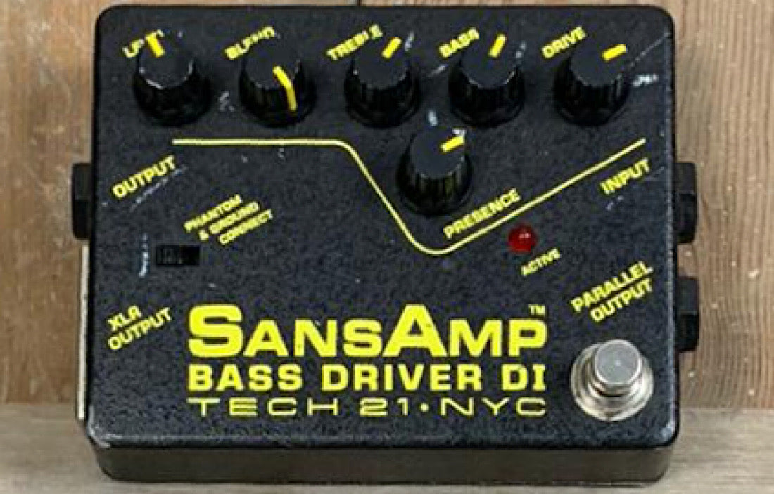 Tech 21 Sansamp Bass Driver