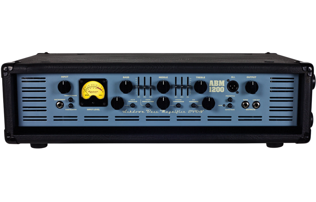 Ashdown ABM-1200-EVO IV Head - The Bass Gallery