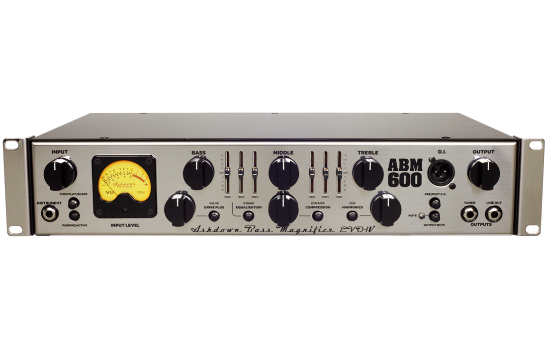 Ashdown ABM-600RC-EVO-IV Head - The Bass Gallery